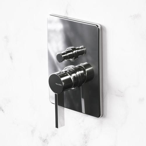 mitigeur de douche / pour baignoire / mural / en laiton