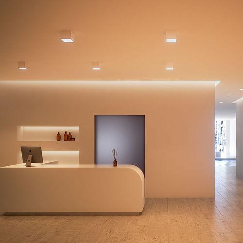 downlight en saillie / à LED / carré / résidentiel