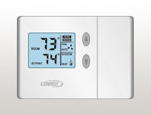 thermostat numérique / programmable / mural / pour chauffage