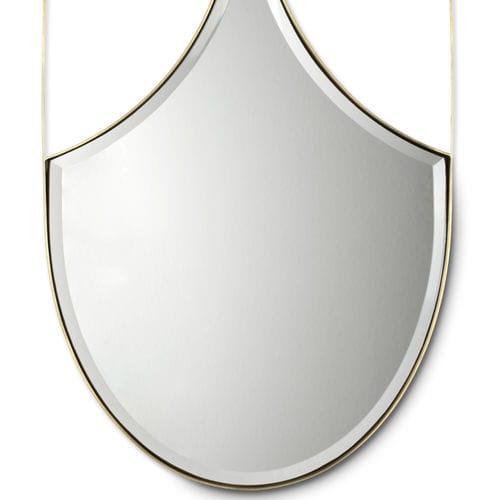 miroir de salle de bain mural / classique / en laiton