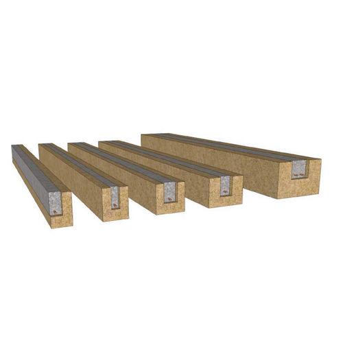 linteau en béton / en chanvre / armé / préfabriqué