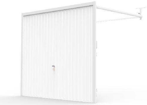 porte de garage basculante / en acier galvanisé / automatique