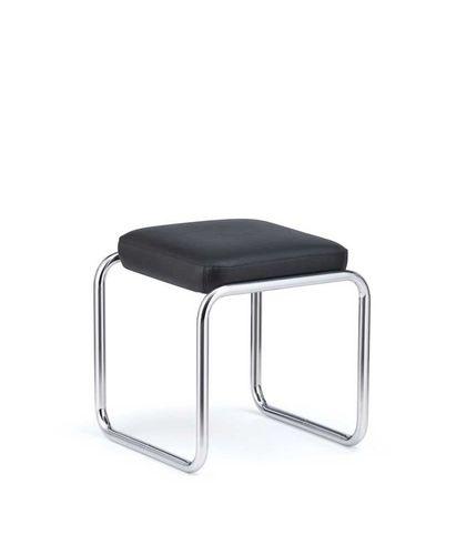 tabouret design Bauhaus / en cuir / en acier / professionnel