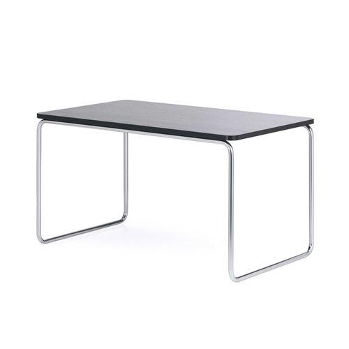 table de réunion design Bauhaus / en hêtre / en acier / rectangulaire