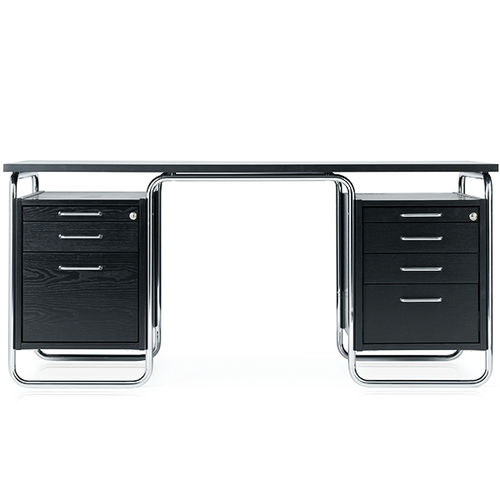 bureau en bois / en acier / design Bauhaus / pour hôtel