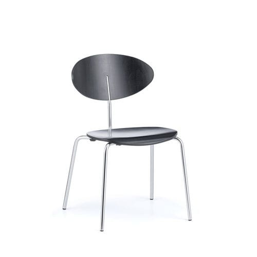 chaise de conférence empilable / tapissée / avec accoudoirs / en hêtre