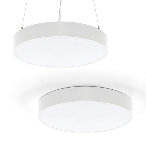 luminaire suspendu / apparent / à LED / circulaire
