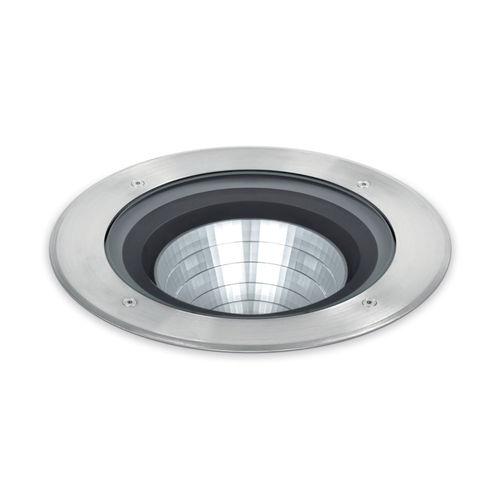 luminaire encastrable au sol / à LED / circulaire / courbé