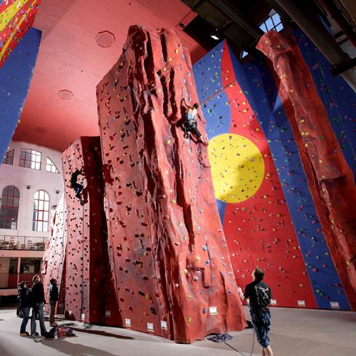 Mur d'escalade fixe / pour aire de jeux DEDICATED  Rockworks Ltd