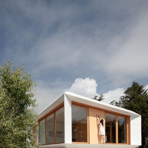 maison préfabriquée / modulaire / contemporaine / à ossature bois