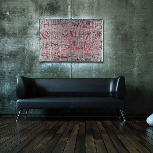 panneau décoratif en verre de Murano / mural / rétroéclairé