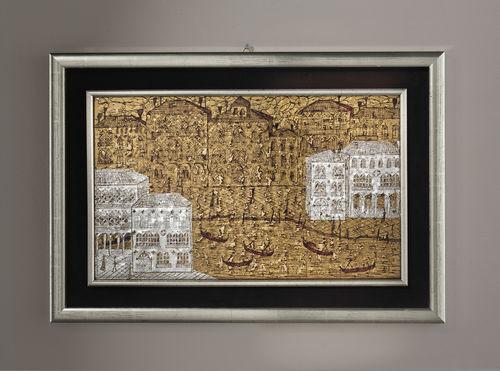Panneau décoratif en verre de Murano / mural / 3D VENEZIA 3D veveglass
