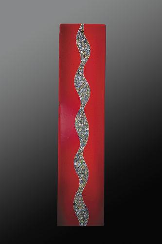 panneau décoratif en verre de Murano / mural / sur mesure