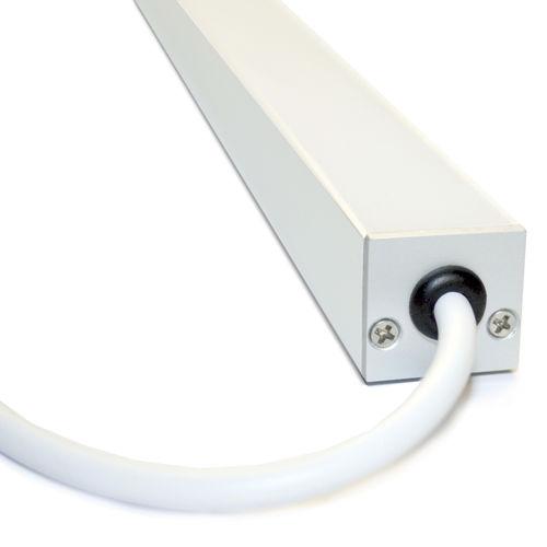 Profil éclairant encastrable / de sol / à LED / système d'éclairage modulaire AERIS IP67 liniLED®