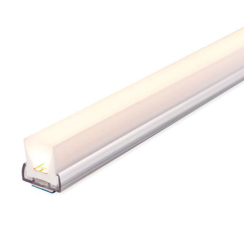 Profil éclairant encastrable / à LED / système d'éclairage modulaire U PROFILE 18 liniLED®