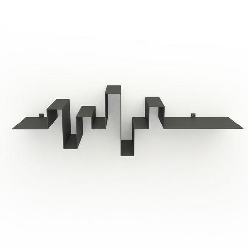 étagère murale / contemporaine / en acier