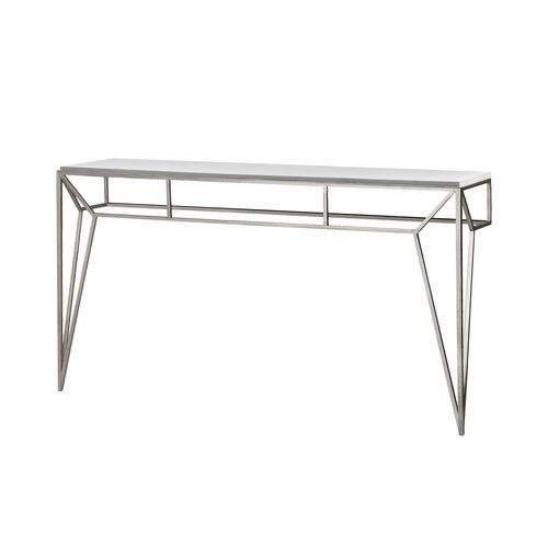 Table console / classique / en verre / en fer PRISME Mobilier De Style