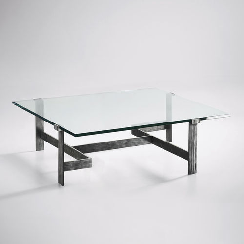 Table basse / classique / en verre / en fer GEOGLYPHE Mobilier De Style