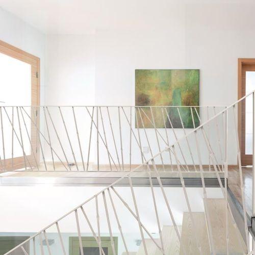 garde-corps en métal / à barreaux / d'intérieur / pour escalier