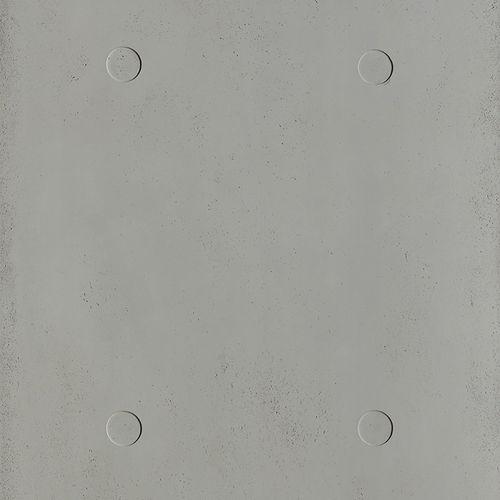 Parement en béton / intérieur / texturé / coloré SCAFFOLDED 2MM by Matali Crasset PANBETON
