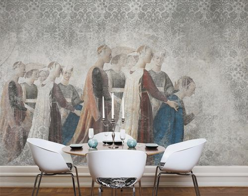 Papiers peints contemporains / en tissu / en vinyle / damas PIERO DELLA FRANCESCA Skinwall