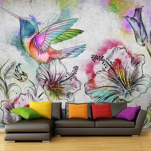 Papiers peints contemporains / en tissu / en vinyle / motifs floraux BEIJAFLOR Skinwall