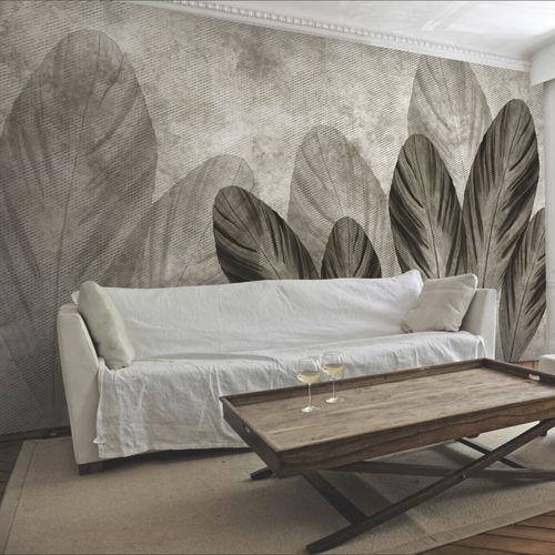 papier peint contemporain / en tissu / en vinyle / à motif nature