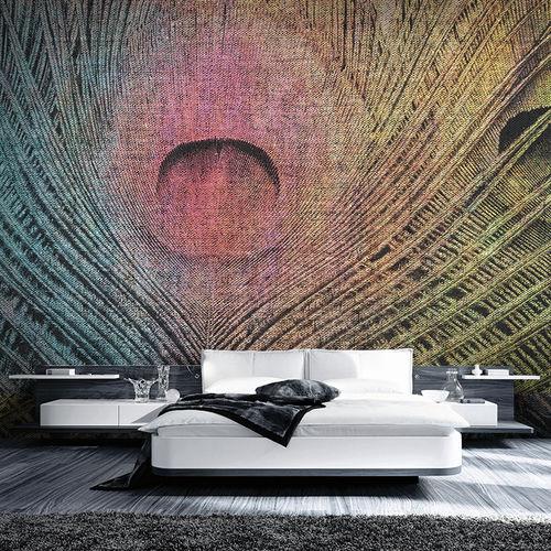 papier peint contemporain / en tissu / en vinyle / à motif peau de bête