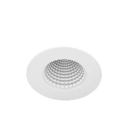 downlight encastrable au plafond / à LED / rond / en acier
