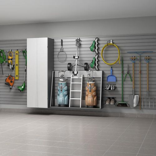étagère murale / contemporaine / en acier / pour garage