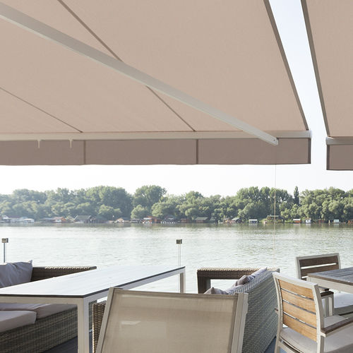 tissu pour protection solaire / uni / en polyester / professionnel