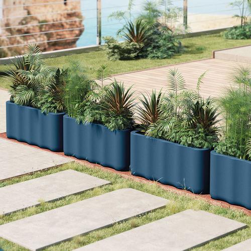 jardinière en polyéthylène / contemporaine