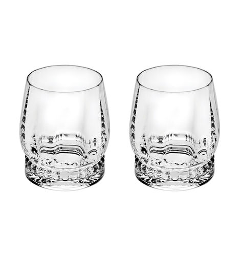 verre à Whisky / à cocktail / en cristal / par Marcel Wanders