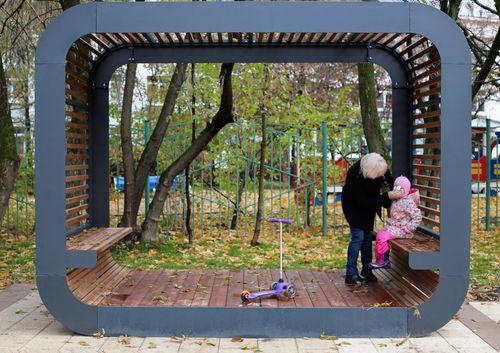 abri pour espace public