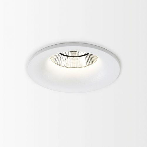 downlight encastré / à LED / rond / en aluminium