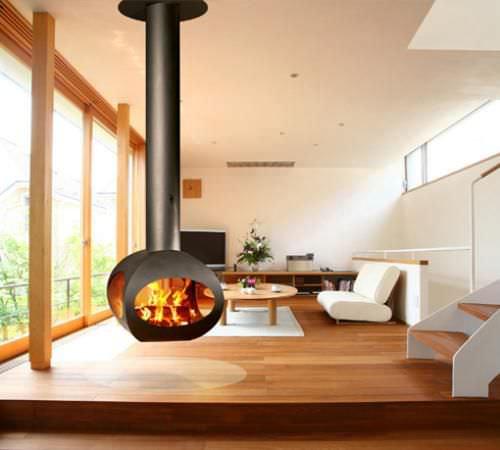 cheminée à bois - FLAM N' CO