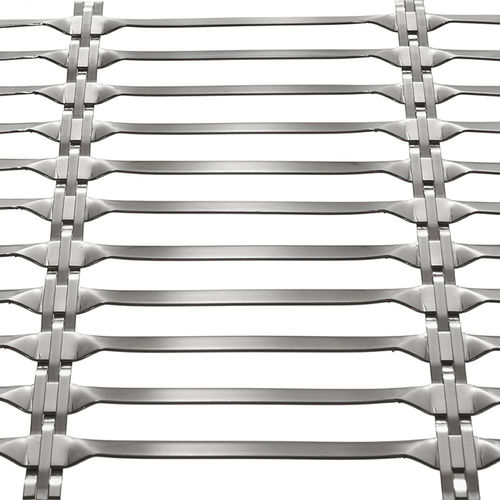 grille métallique pour façade - HAVER & BOECKER OHG
