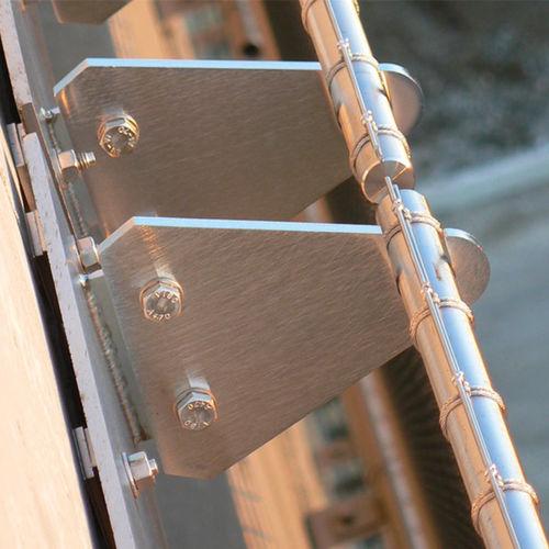 système de fixation en métal / pour bardage de façade / pour extérieur / pour intérieur