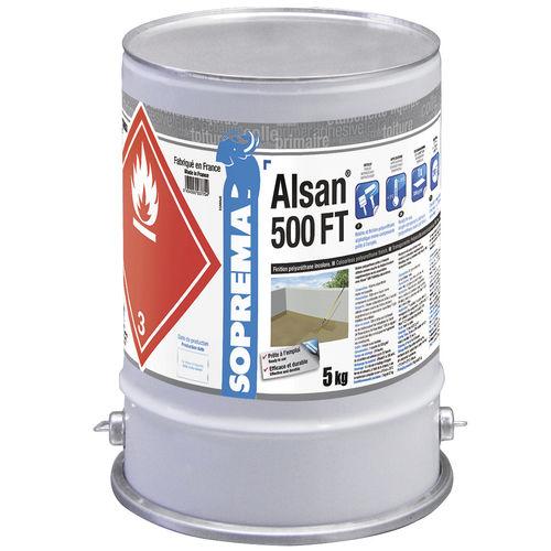 Enduit de finition / d'étanchéité / pour mur / pour sol ALSAN® 500 FT SOPREMA