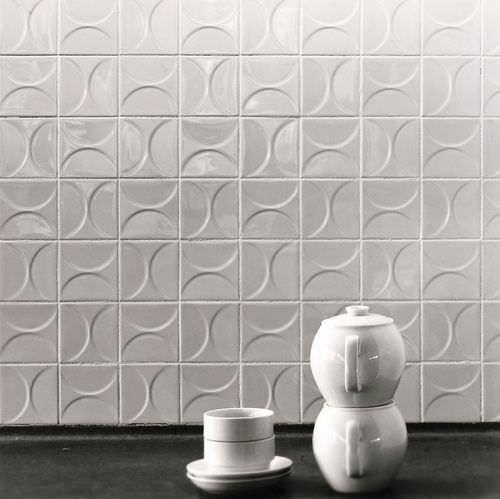 Carrelage d'intérieur / de sol / en céramique / à motif géométrique CLASSICS KHO LIANG IE Mosa. Tiles.