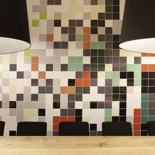 Carrelage de salle de bain / de sol / en céramique / uni MOSA COLORS Mosa. Tiles.