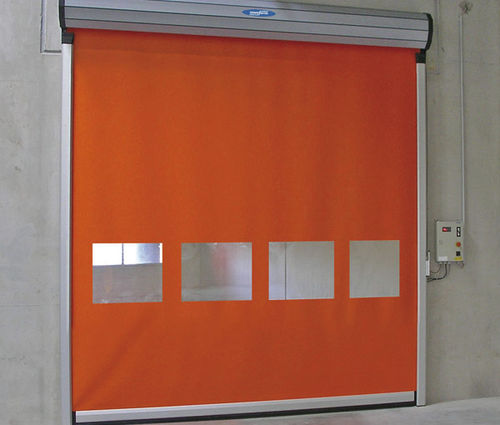 Porte industrielle enroulable / en aluminium / en PVC / automatique NOVOSPEED FLEX 2.0   HARD EDGE Novoferm