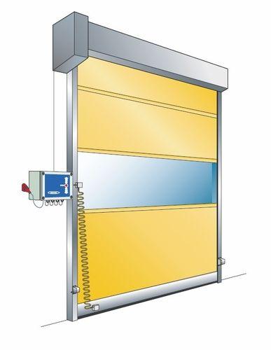 Porte industrielle enroulable / en PVC / pour l'industrie agroalimentaire / rapide NOVOSPEED BASIC NOVOFERM INDUSTRIE
