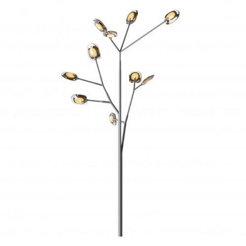 Lampe sur pied / contemporaine / en acier inoxydable / en verre 16.10 OLIVE BOCCI