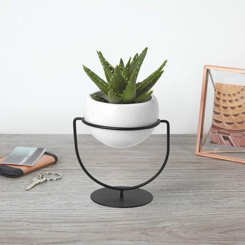 pot de jardin en céramique / rond