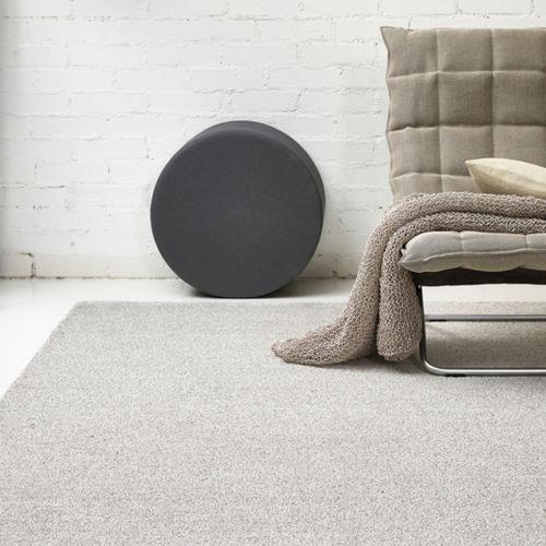 tapis contemporain / uni / en laine / en lin