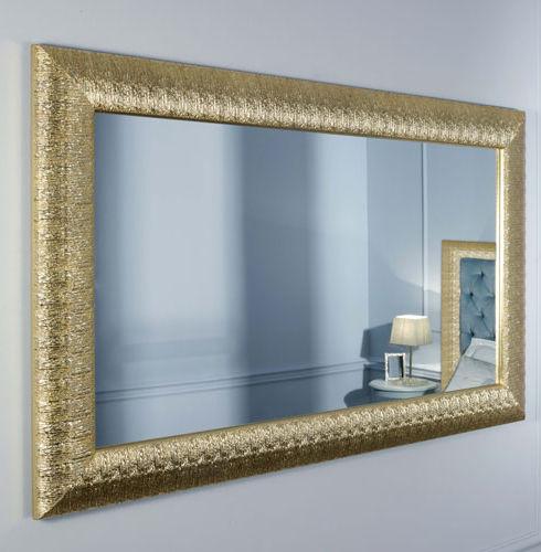Miroir mural / classique / rectangulaire / doré - FRANCESCA - CASA ...