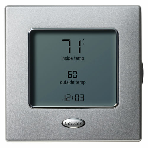thermostat programmable / d'ambiance / mural / pour chauffage