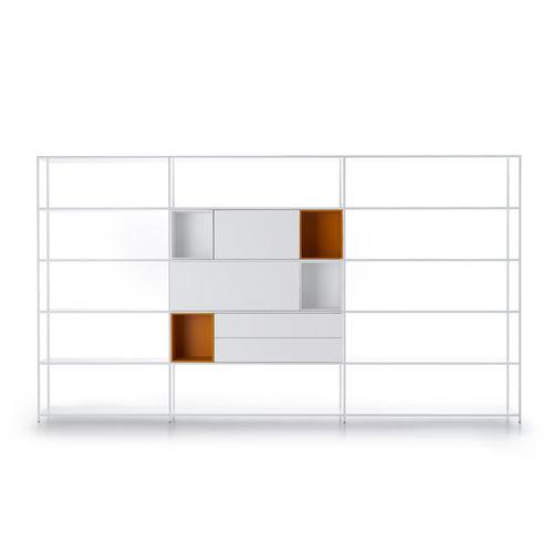 étagère murale / modulable / basse / d'angle