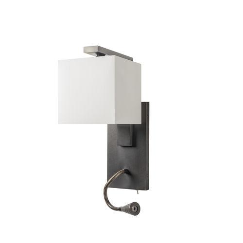 applique murale contemporaine / en laiton / en coton / à LED